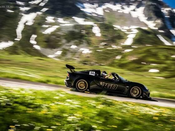 EX460 in den Alpen