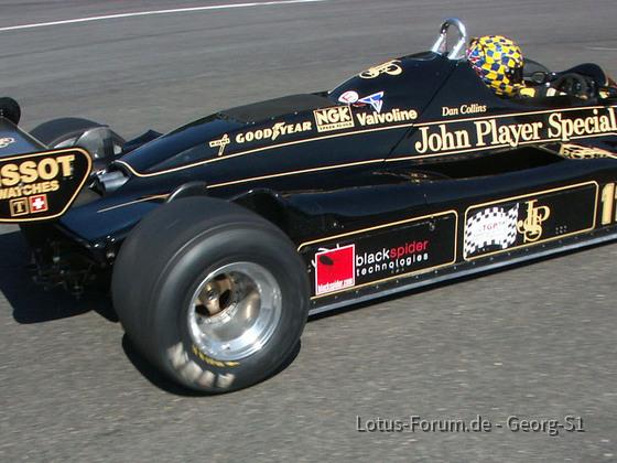 2005 Spa Pistenclub Lotus 91 in La Source