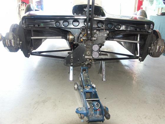 2005 Spa Pistenclub Lotus 88 Rear view