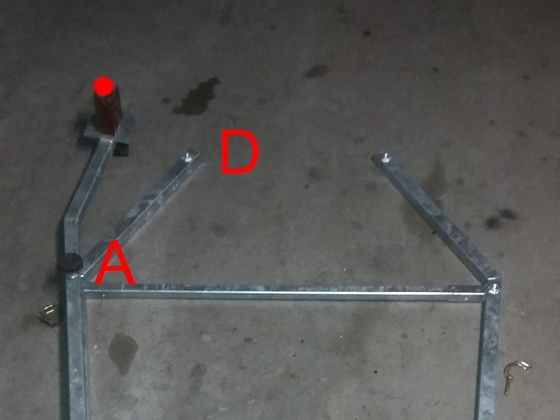 alte und neue Hebebühnenkonstruktion