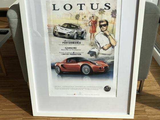 Lotus Elise Poster in Australien gefunden :-))))