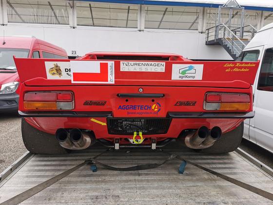 2021 Pistenclub Hockenheimring - De Tomaso Pantera