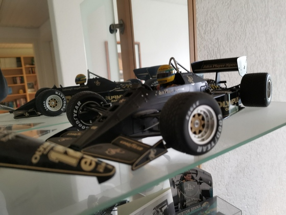 Lotus Type 72 GP Estoril 1985 Ayrton Senna