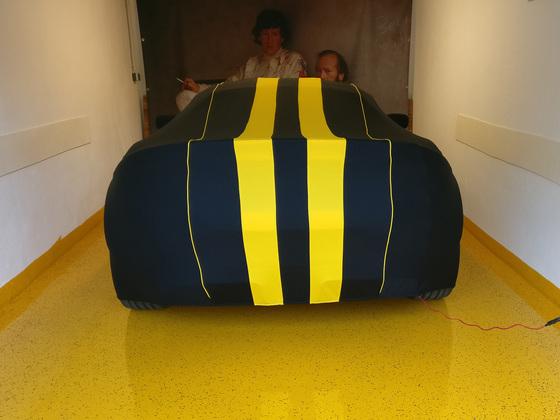 Bodenbeschichtung passend zum Auto