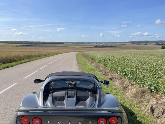 Frankreich: Weites Land (freie Straßen)