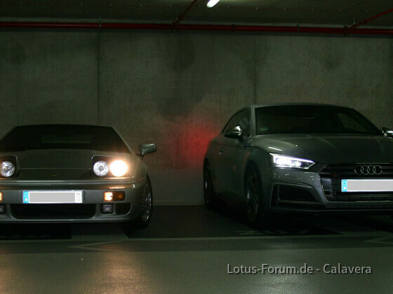 Esprit Turbo SE vs. Audi S5