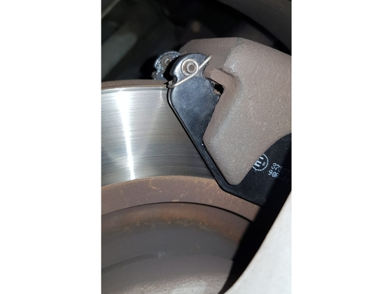 Feder an Bremsbacken S1 hinten