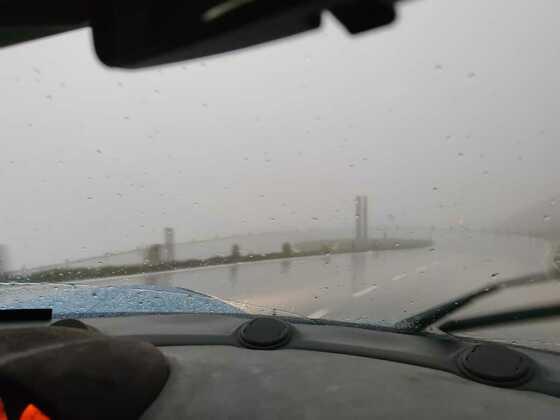 Großglockner bei Regen