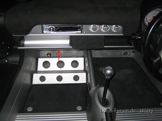 Standard Rover-S2 (2002), Innenansicht